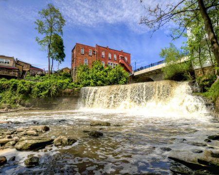Chagrin Falls in Chagrin Falls