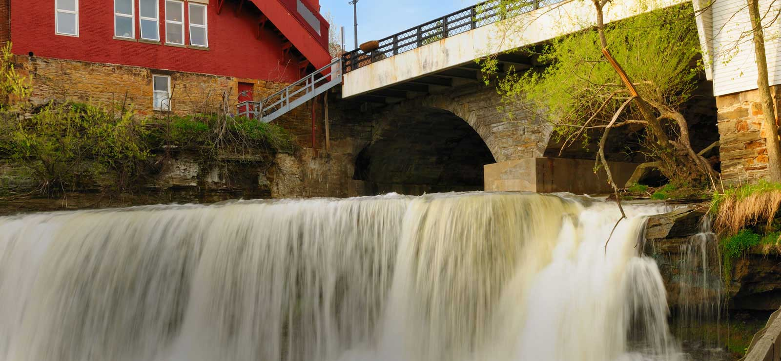 Chagrin Falls in Chagrin Falls, Ohio