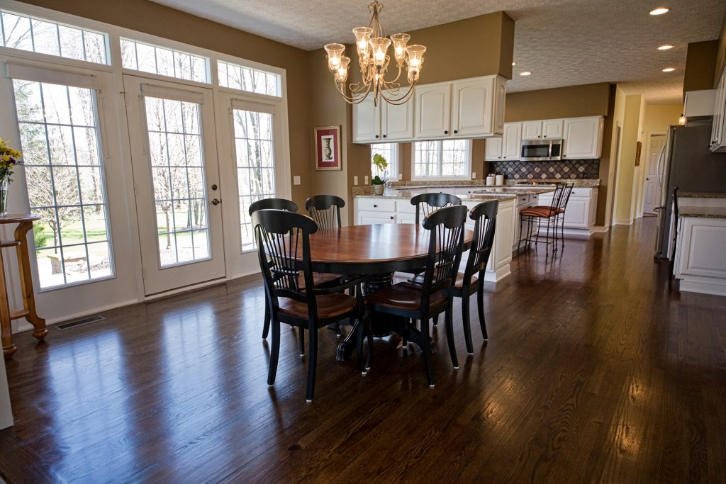 Stunning dining room in Chagrin Falls