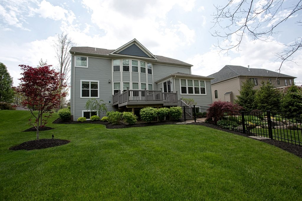 House with large yard