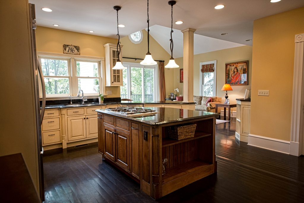 Lovely kitchen area