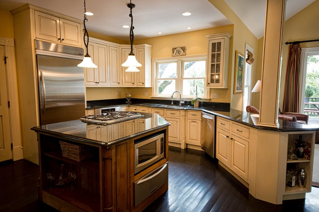 Kitchen with lovely countertop