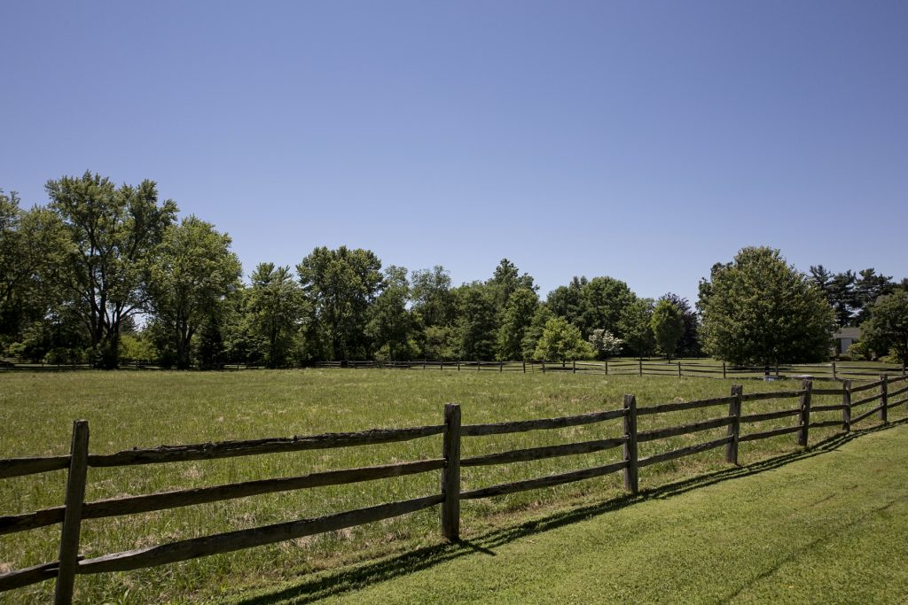 Rolling green pastures