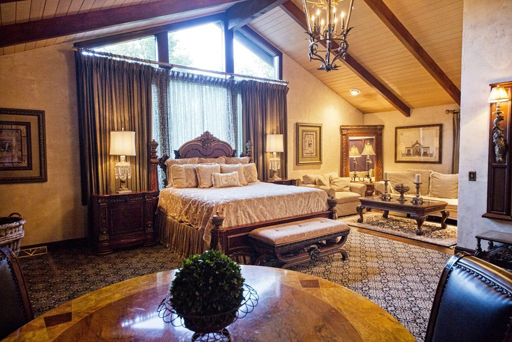 Elegant French-Country style bedroom
