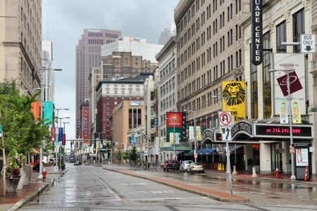 Euclid Avenue and East Fourth Street make up the present-day neighborhood of East Fourth Street