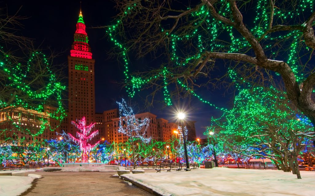 Christmas look of a City